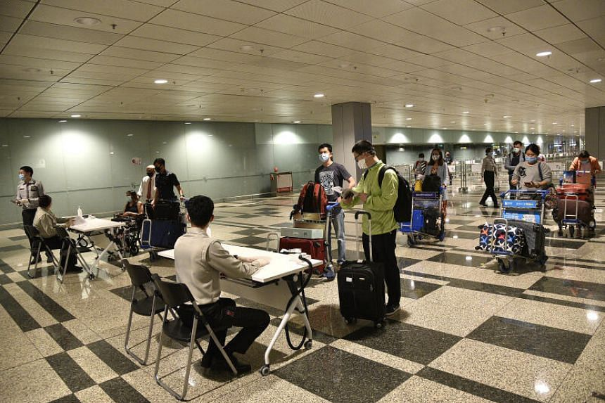 All four imported cases were placed on stay-home notice or isolated upon arrival in Singapore.
