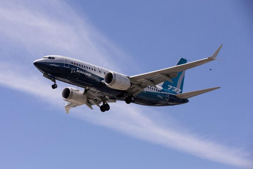 The 737 Max has been grounded from commercial flight worldwide since March 2019.