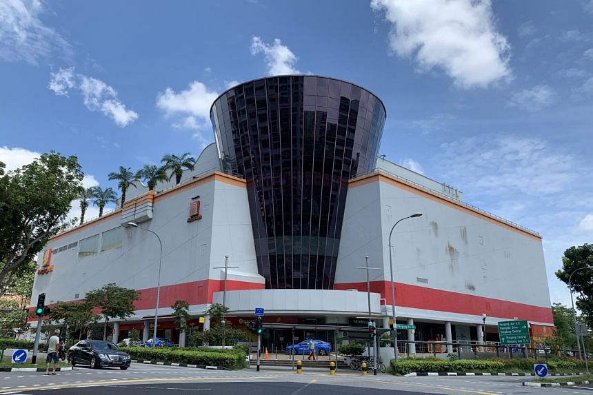 Hougang Mall is one of five shopping malls near MRT stations owned by ARF.