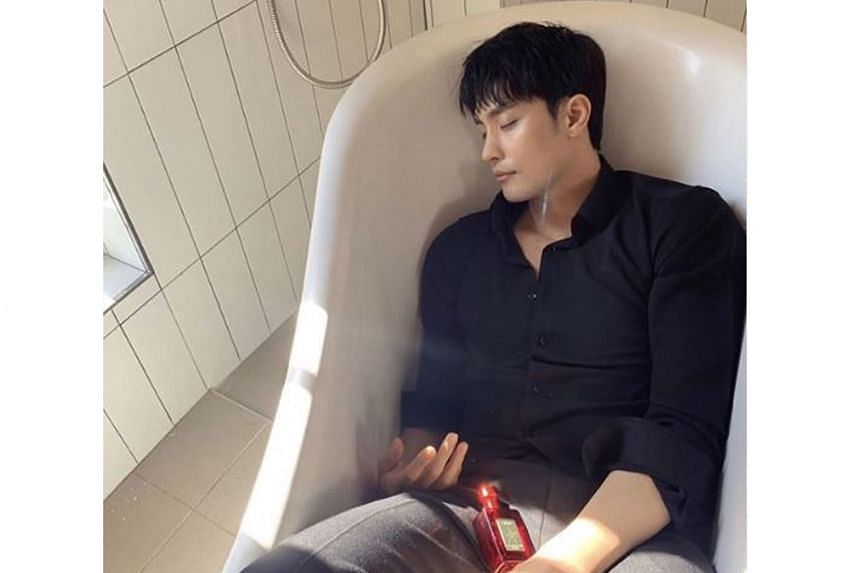 SUNG HOON FALLS ASLEEP ON INSTAGRAM LIVE: Netizens had a good chuckle when South Korean actor Sung Hoon (above, right) fell asleep during an Instagram Live broadcast recently. 	The 37-year-old, who is known for playing the lead role in My Secret Roma