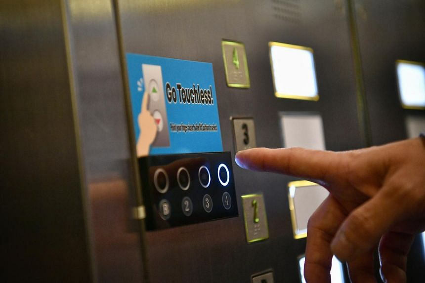 Changi Airport Group is exploring the installation of contactless lift buttons using infrared technology.