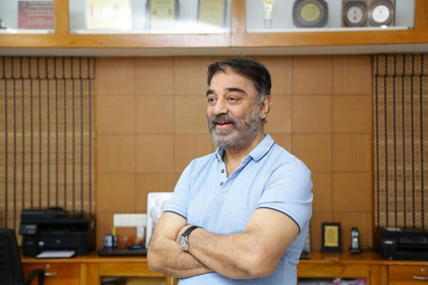 Actor and politician Kamal Haasan launched a volunteer project to help change Chennai from a red to a green zone.