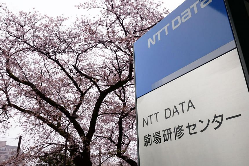 NTT Data's Training Centre in Tokyo. The company plans to launch a Research Centre in Singapore next year.