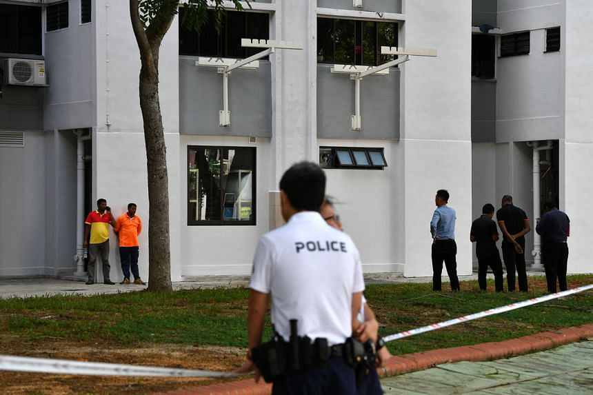 The Singaporean is said to have committed the offence at a Housing Board block in Bedok North  on Jan 7.