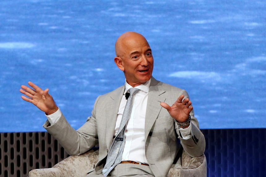 Jeff Bezos's gains underscore a widening wealth gap in the US.