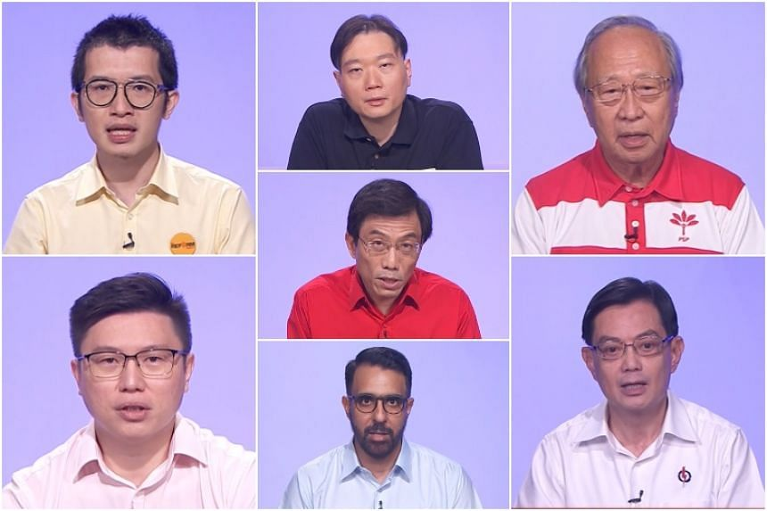 The first party political broadcast for the July 10 general election took place on July 2, 2020.