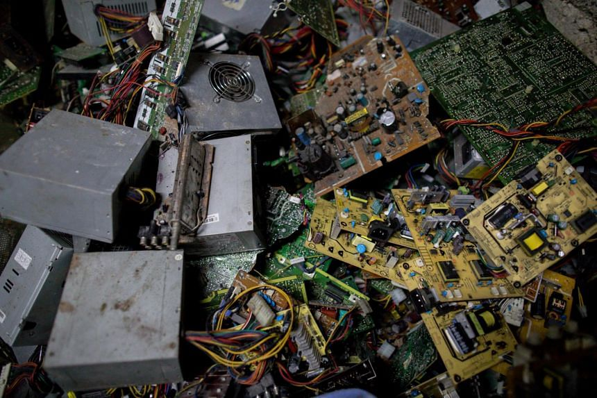 The world dumped a record 53.6 million tonnes of e-waste in 2019.