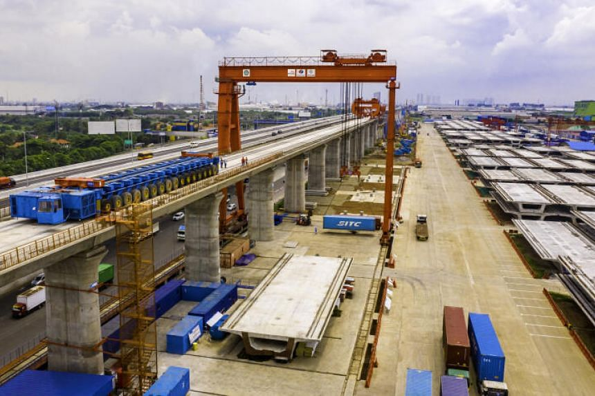 The high-speed rail is expected to travel at speeds of up to 350kmh, with two stops between Jakarta and Bandung.