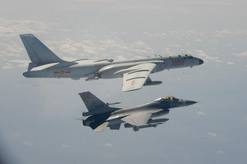 Taiwan has complained in recent months of repeated Chinese air force patrols near it.