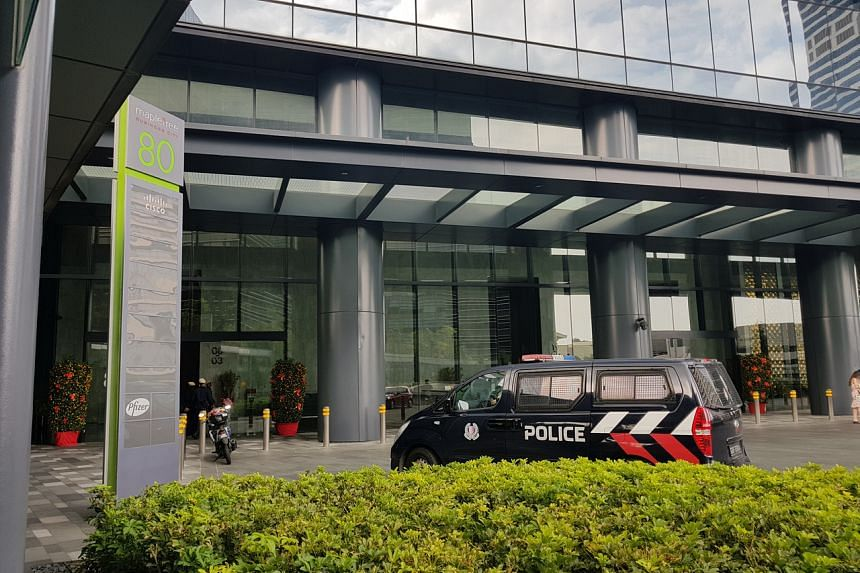 The Commercial Affairs Department raided Wirecard's local offices at Mapletree Business City on Feb 8, 2019, after fraud allegations.