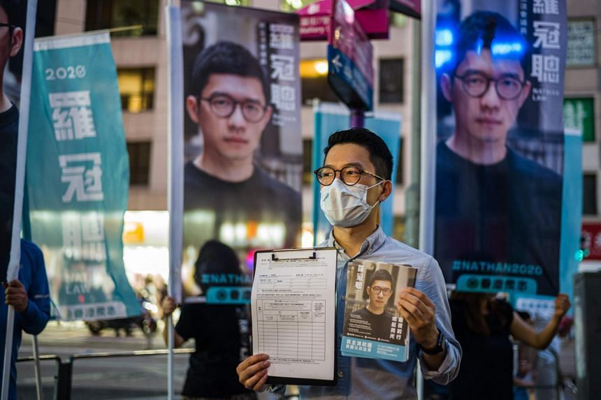 Activist Nathan Law said businesses and professionals were seriously considering leaving Hong Kong due to China's crackdown.