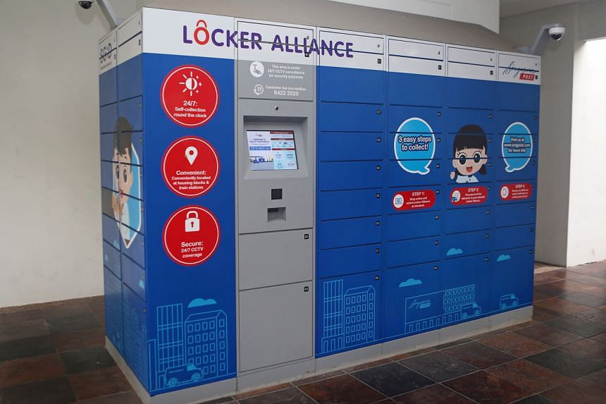 Self-collection from parcel lockers is seen as a viable alternative to doorstep deliveries.
