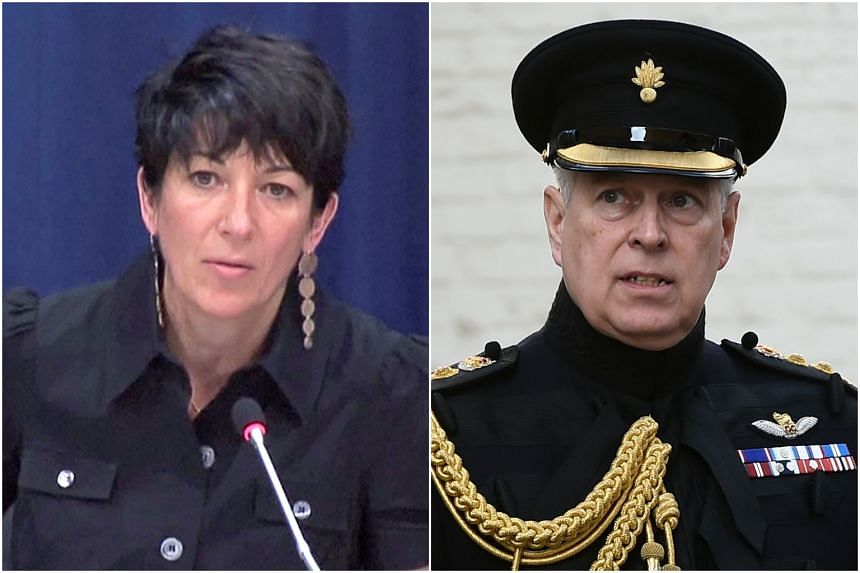 Ghislaine Maxwell (left) is believed to have introduced Prince Andrew (right) to Epstein.