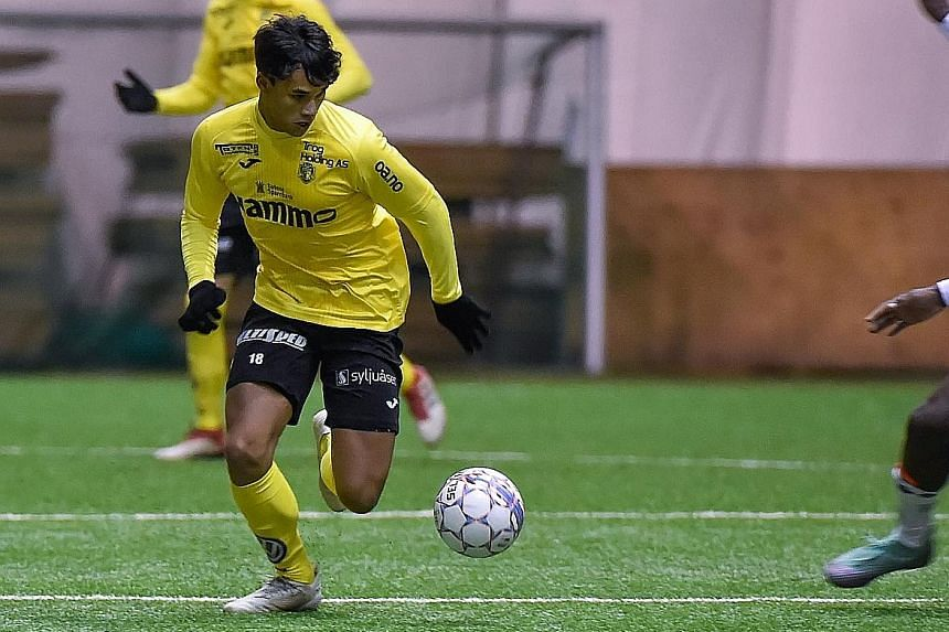 Ikhsan Fandi could not agree on salary terms and contract length with top-tier IK Start, before the transfer window closed on Tuesday.