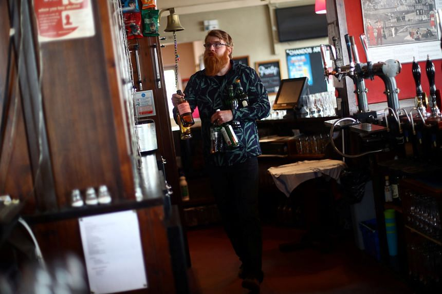 The focus of the reopening is on pubs.