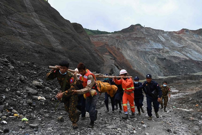 More than 170 people died after mining waste collapsed into a lake, triggering a surge of mud and water.