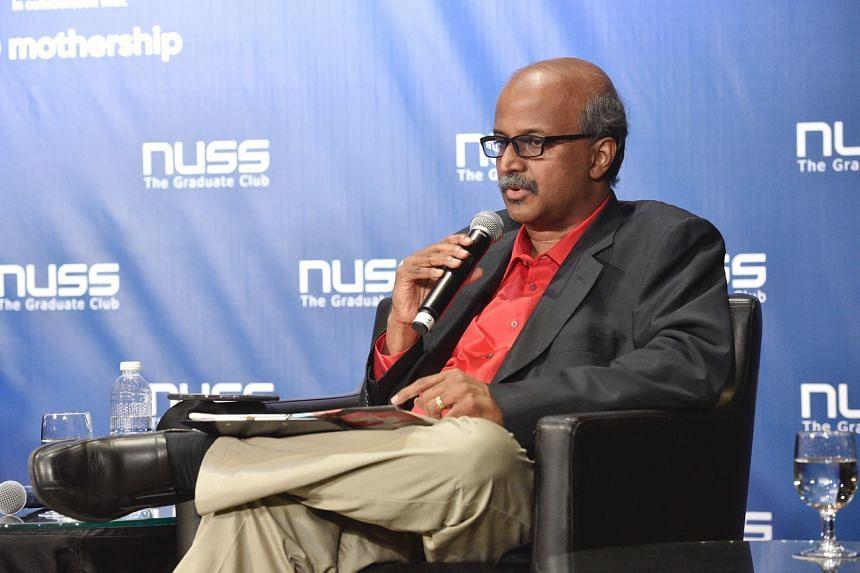 Professor Paul Tambyah speaking at the NUSS Pre-General Election Forum 2020 on July 3, 2020.