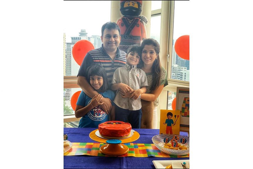 "It was the ""best birthday ever"" for four-year-old Arjun, despite not being able to celebrate with his friends. His parents, Mr Mrinal Parekh and Mrs Ruchi Parekh, helped him see the value of a family-only party. Together with his sister Anaya, they enjoye"