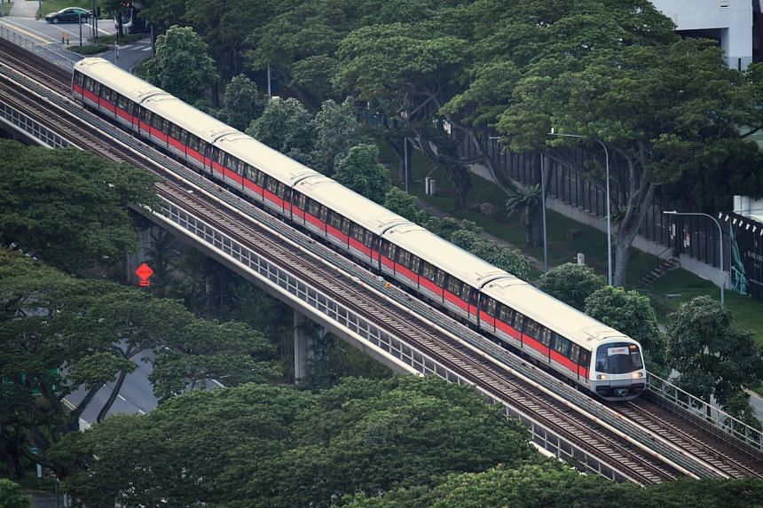 The MRT network clocked 1.6 million train-km between delays, from 1.4 million in the previous quarter.