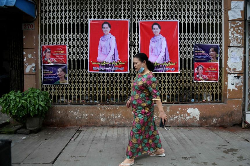 Myanmar's leader Aung San Suu Kyi won a landslide victory in 2015, but the junta has been loathe to give up its levers of power.
