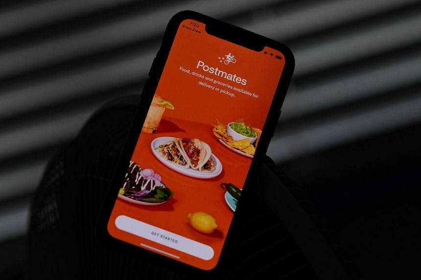 Together, Postmates and Uber Eats would have a 37 per cent share of food delivery sales in the United States.