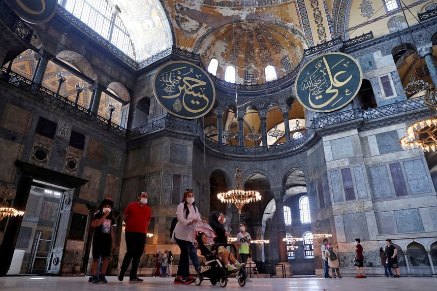 Turkey's top court is debating whether Hagia Sophia can be redesignated as a mosque.