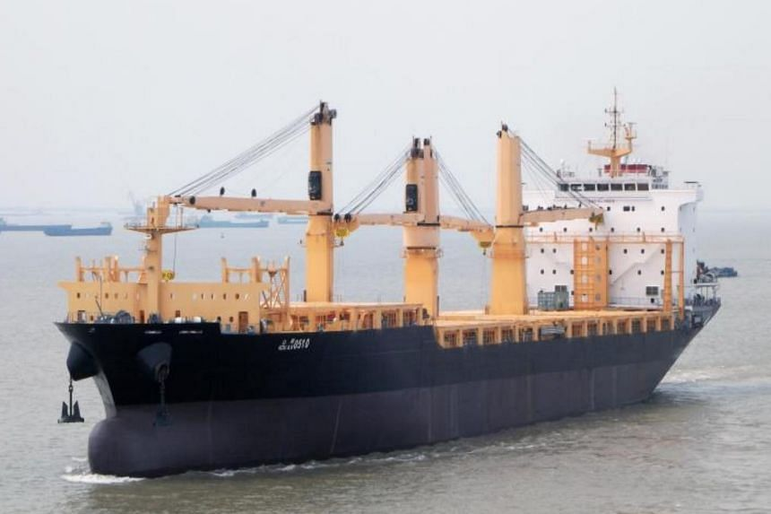 Maritime security experts Dryad Global earlier said that the cargo vessel was boarded by heavily armed men.