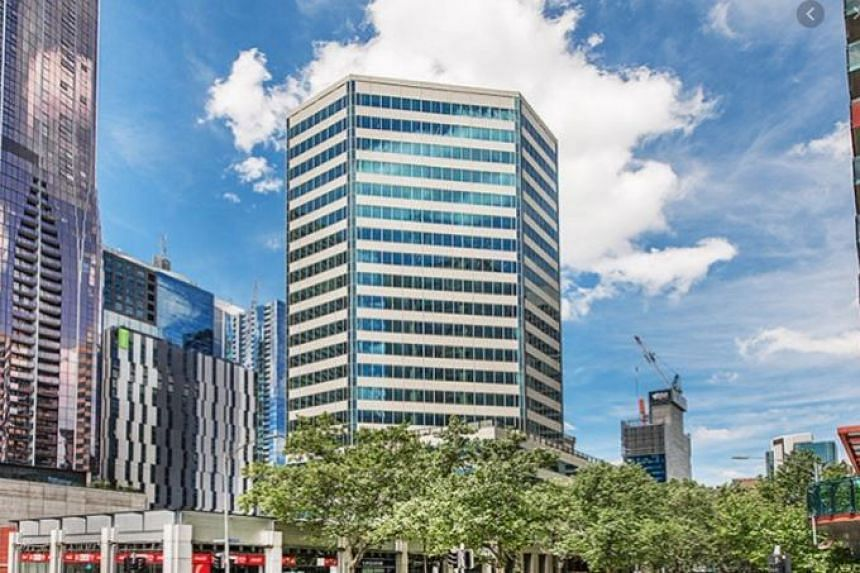 Situated in Melbourne's central business district, the property houses offices, retail offerings, and community amenities.