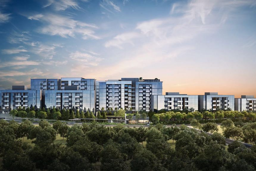 An artist's impression of Forett At Bukit Timah; An upcoming 633-unit freehold condominium. PHOTO: FORETT AT BUKIT TIMAH