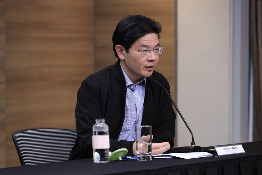 National Development Minister Lawrence Wong on July 7, 2020.