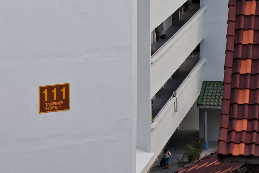Nine people living in Block 111 Tampines Street 11 have tested positive for Covid-19.