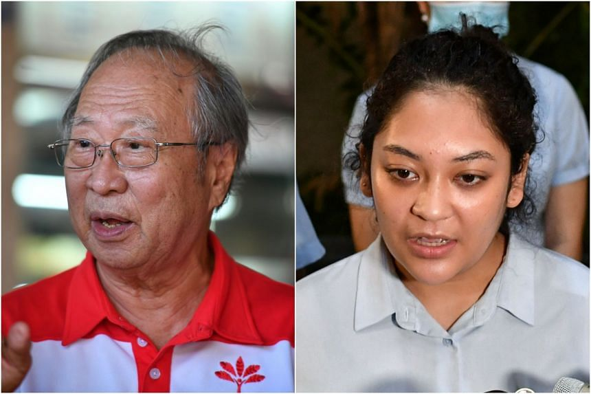 "PSP chief Tan Cheng Bock (left) described the controversy surrounding Ms Raeesah Khan's social media posts as ""gutter politics""."