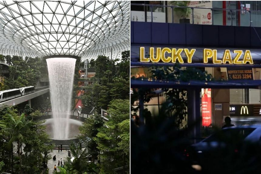 Jewel Changi Airport and Lucky Plaza are among the places visited by Covid-19 patients while they were still infectious.