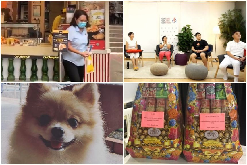 Here is a look back at the more light-hearted side of the campaign trail: food, songs, animals and gifts.