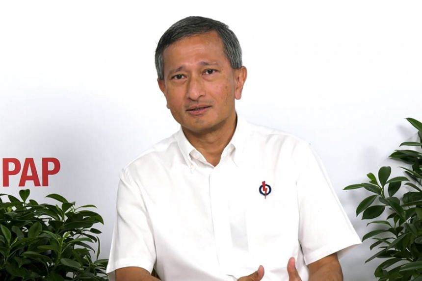 Foreign Minister Vivian Balakrishnan emphasised the need to save for a rainy day.