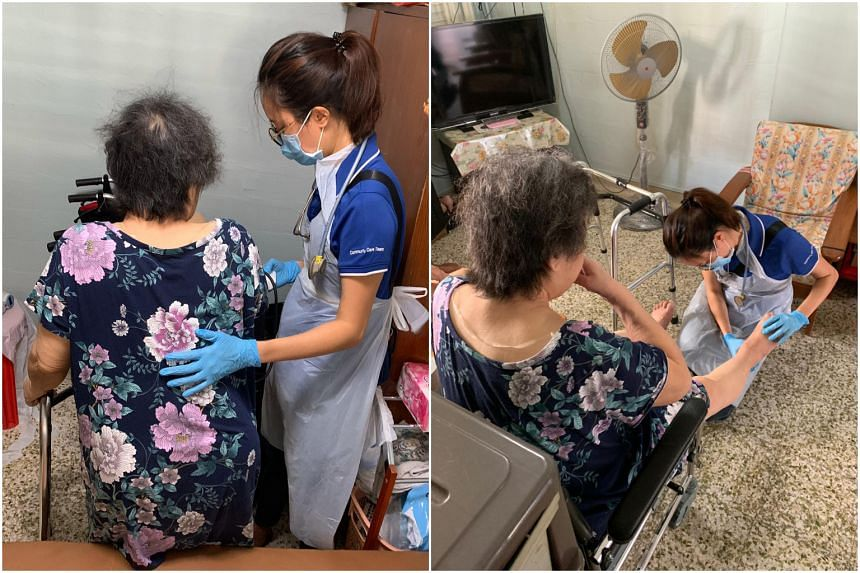 Nurse Antoinette Goh helps recovering patients transition from the hospital to their home environments.
