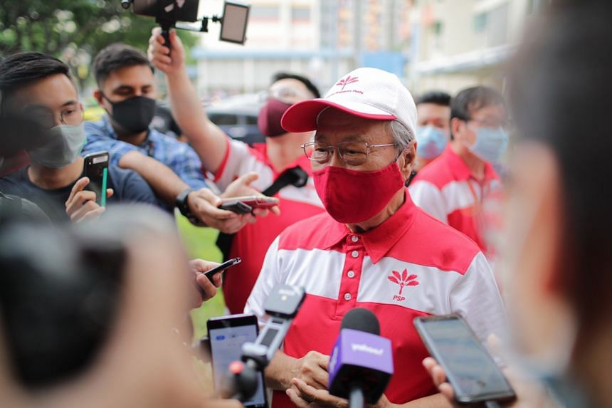 PSP chief Tan Cheng Bock said that the past nine days of campaigning had been a good experience.