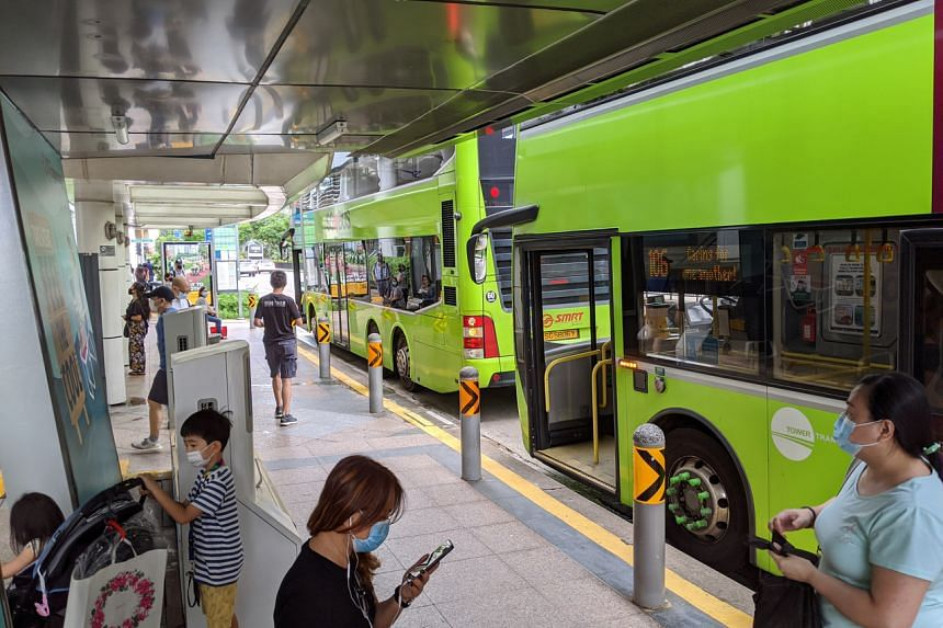 Buses are spending less time at each bus stop to pick up passengers or let them alight.