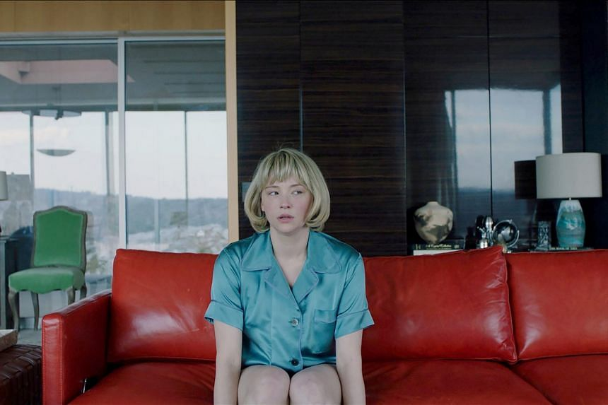 A still from the film Swallow starring Haley Bennett.