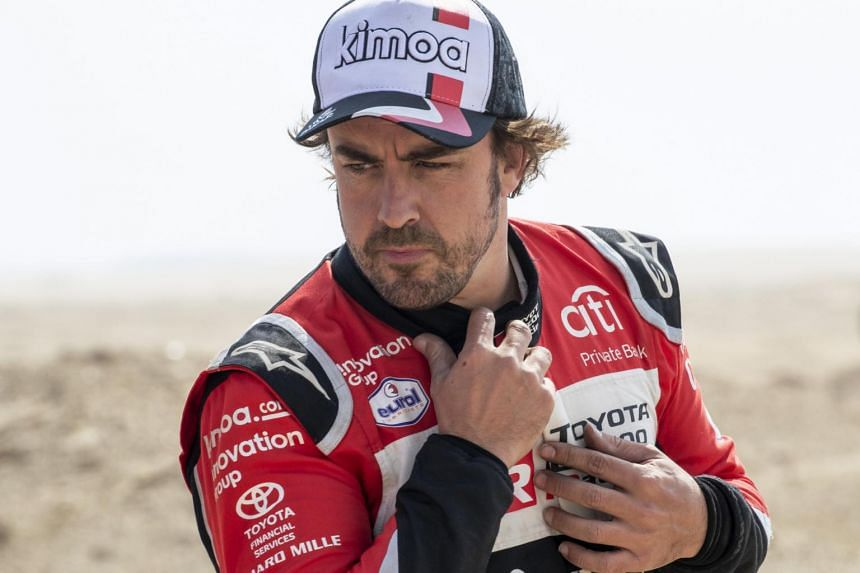 Fernando Alonso won his championships in 2005 and 2006.
