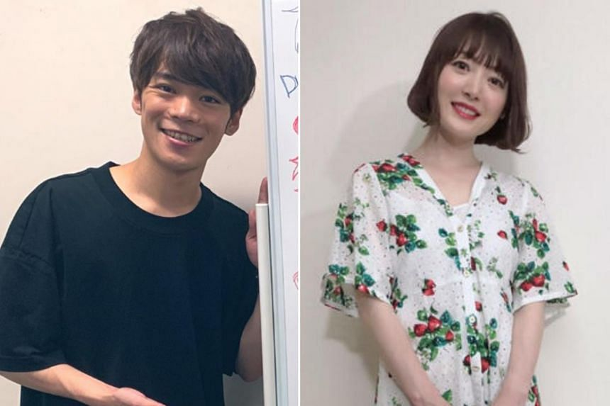 Kana Hanazawa's husband-to-be is fellow voice actor Kensho Ono (left).