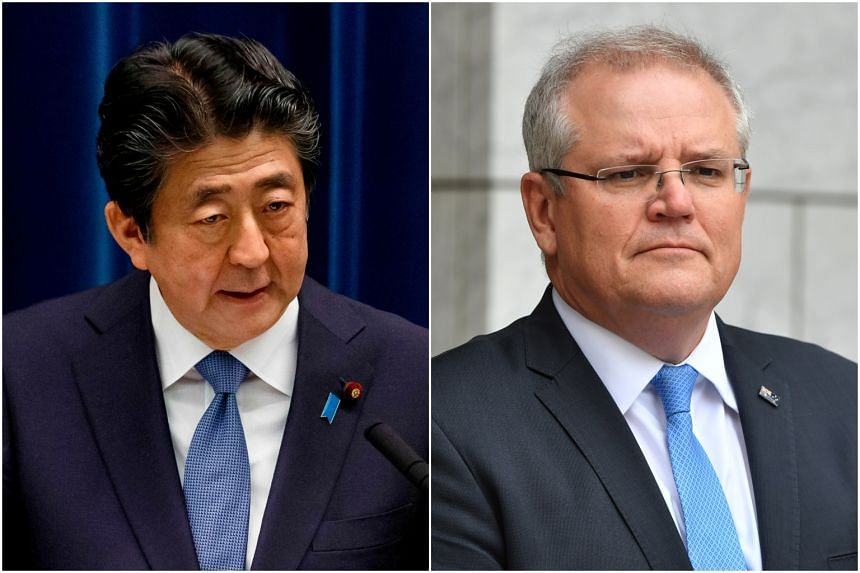 Japanese Prime Minister Shinzo Abe and Australian Prime Minister Scott Morrison also expected to approve a memorandum of understanding to further ties between their space agencies.