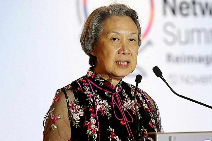 Ms Ho Ching.