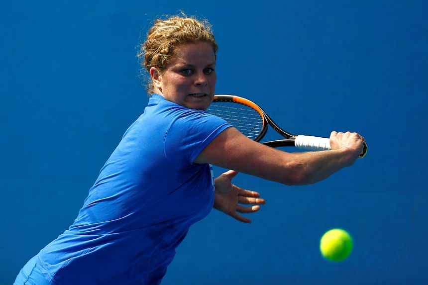 Kim Clijsters said she remains determined to revive her career after years away from tennis.