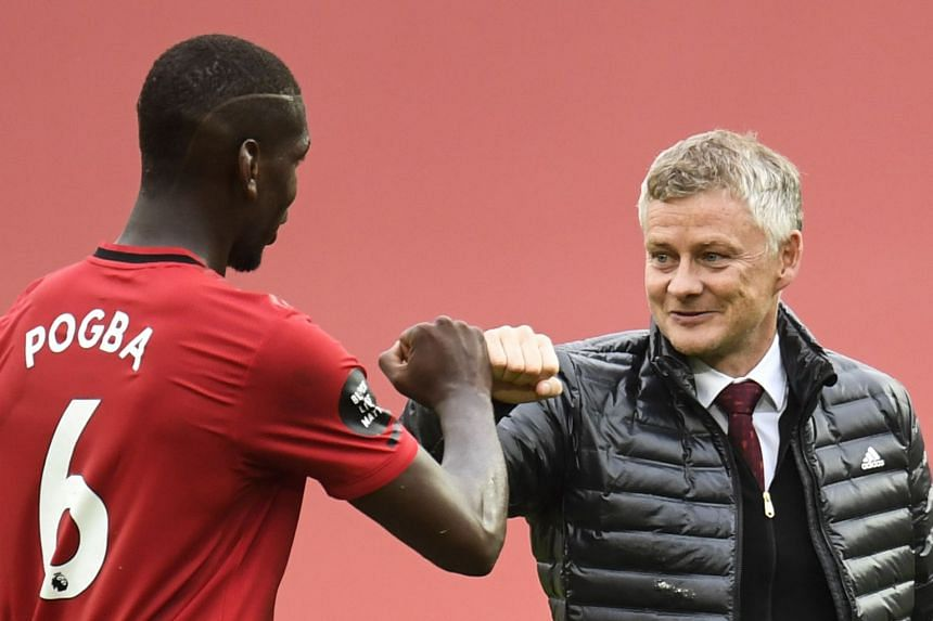 Manchester United manager Solskjaer gives Pogba contract update