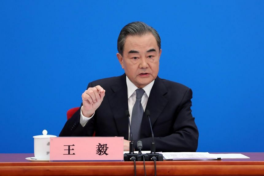 Chinese Foreign Minister Wang Yi said he hoped the United States would build a more objective understanding of China.