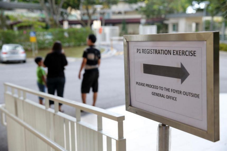 Balloting will be conducted for children of Singapore citizens who live more than 2km from the schools.