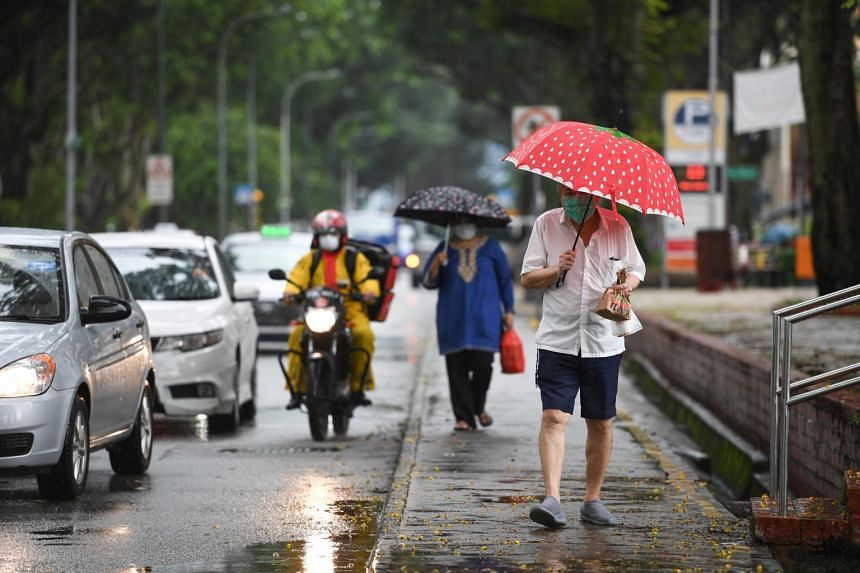 The showers are due mostly to the prevailing south-west monsoon persisting this month over the South-east Asian region.