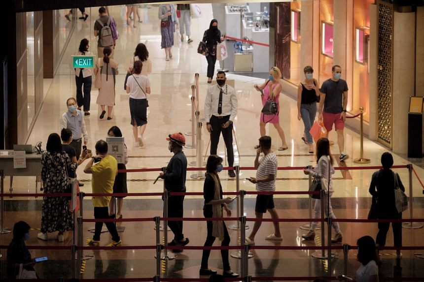 Though some stores continue to see consistent shopper traffic, the initial rush of crowds seen during the first week of phase two has subsided.