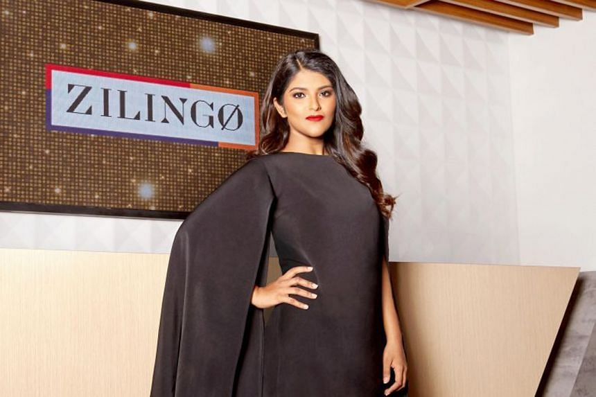 Co-founders Ankiti Bose (above) and Dhruv Kapoor said the leadership team of Zilingo has taken a pay cut of at least 30 per cent.